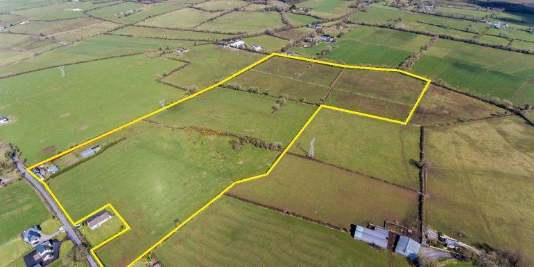land 43.76 acres