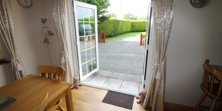 rear patio door