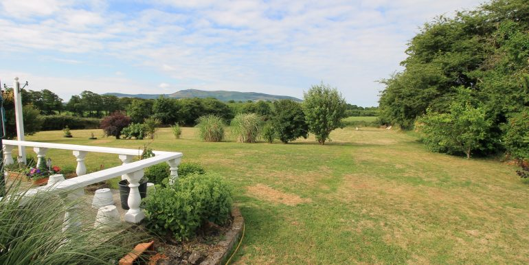 rear garden front