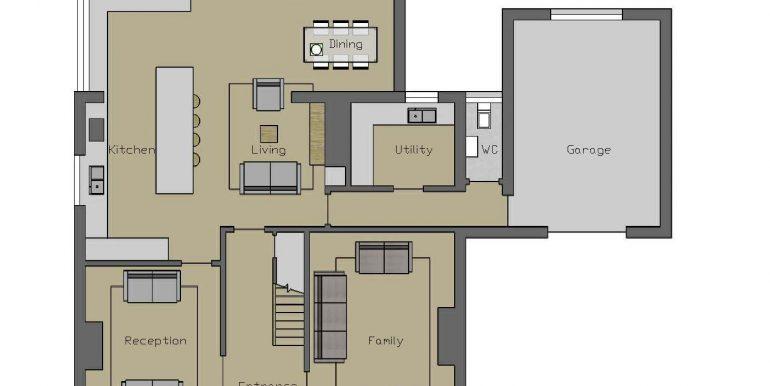 21. Dromarka Ground Floor plan for brochure