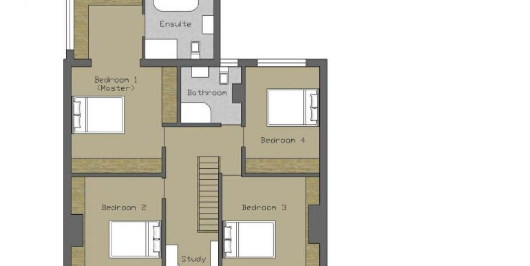 22. Dromarka 1st Floor plan for brochure